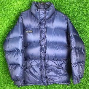 Vintage Columbia Down Puffer Jacket Neptuse USA